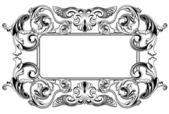 Renaissance_frame — Stock Vector