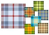 Woollen cloth — Stock Vector