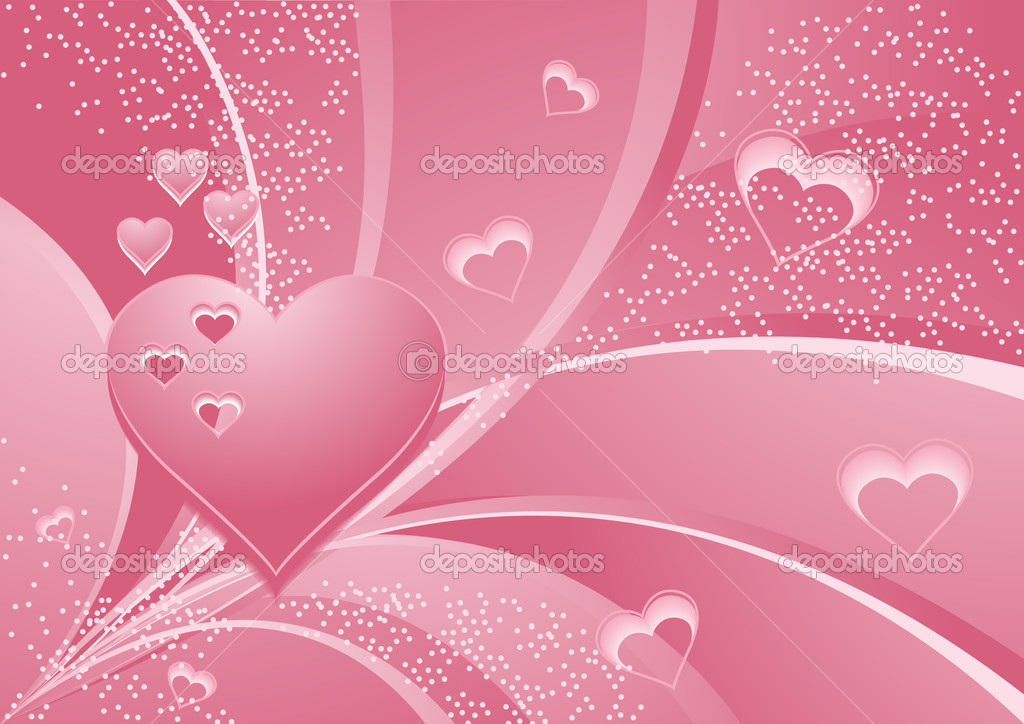 Rose_hearts, vector illustration, EPS and AI files included — Stock vektor #3749082