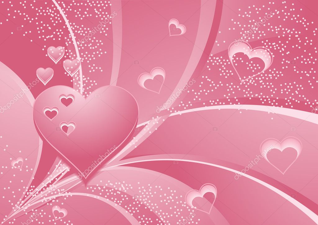 Rose_hearts, vector illustration, EPS and AI files included — Stockvektor #3749082