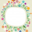 Royalty-Free Stock Vector Image: Floral frame - 4