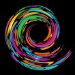 Royalty-Free Stock Vector Image: Colourful swirl