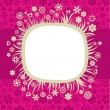 Royalty-Free Stock Vector Image: Floral frame - 5
