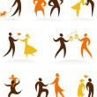 Royalty-Free Stock Vector: Wedding icons - 1