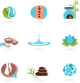 Spa icons - 2 — Stock Vector