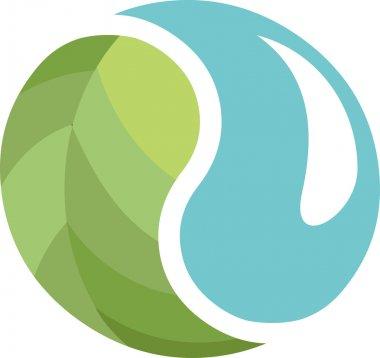 Ecological Yin Yang symbol