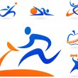 Royalty-Free Stock Vector Image: Fitness icons