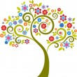 Royalty-Free Stock Vector Image: Decorative tree - 2