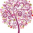 Royalty-Free Stock Imagem Vetorial: Decorative tree - 1
