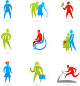 Gezondheidszorg pictogrammenset — Stockvector