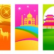 Royalty-Free Stock Vector Image: Exotic destinations