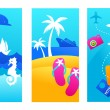 Royalty-Free Stock Vector Image: Summer vacation backgrounds