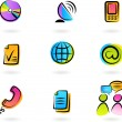 Communication icons — Stock Vector #3273520