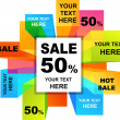 Sale backgrounds - Imagen vectorial