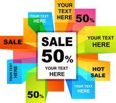 Sfondi di vendita — Vettoriale Stock