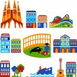 Barcelona - Stock Vector