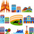 Royalty-Free Stock Vector Image: Barcelona