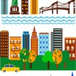 Royalty-Free Stock Vector: New York skyline