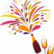 Royalty-Free Stock Vector Image: Champagne - 2
