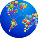World of ideas - 2 — Stock Vector