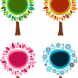 Four Seasons — Stock Vector #3815732