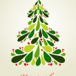 Royalty-Free Stock Vector Image: Cute Christmas background