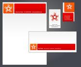 Бланки шаблон дизайна - 1 — Cтоковый вектор