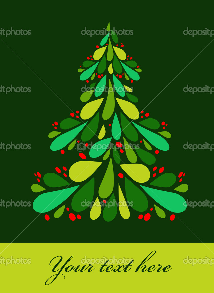 Cute Christmas eve background  — Stock Vector #3819798