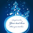 Royalty-Free Stock Vektorov obrzek: Christmas tree card