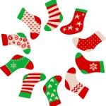 Christmas stockings — Stock Vector #3907442