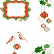 Christmas graphic elements — Stock Vector