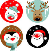 Kerstmis tekens — Stockvector