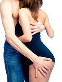 Sexy couple — Stockfoto