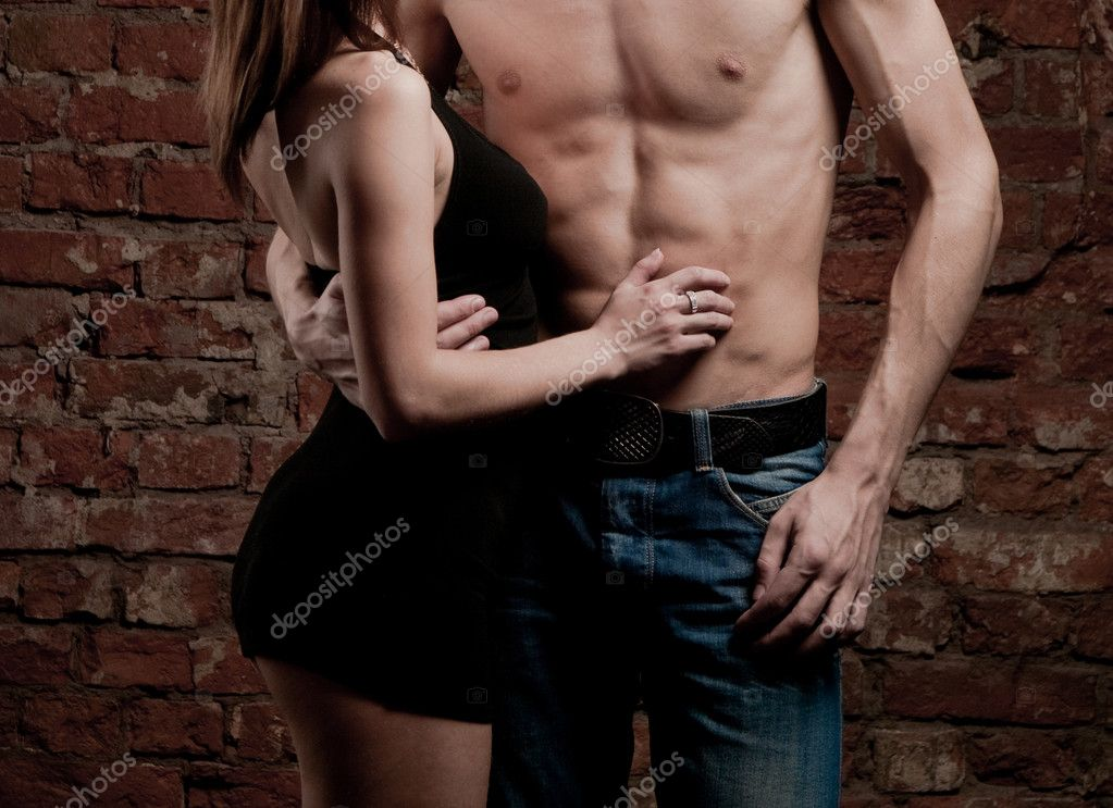 Heterosexal couple, moments of intimacy — Stock Photo #3127316