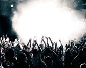コンサートの群集 — ストック写真
