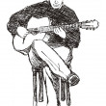 Guitarist — Stock Vector