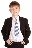 Business child portrait — Stock Photo