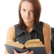 Young caucasian student — Stock Photo