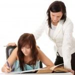 Teacher and student — Stock Photo #3138530