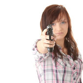Young woman revenge — Stock Photo