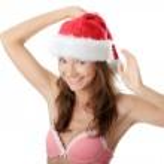 Santa girl — Stock Photo #3142165