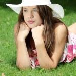 Friendly girl — Stock Photo #3663719
