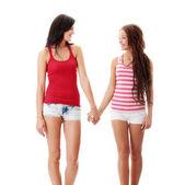 Two lesbian women — Stock Photo