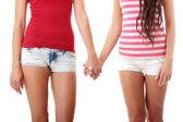Deux femmes lesbiennes — Photo