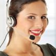 Call center woman — Stock Photo #3861973
