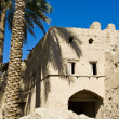 Stock Photo: Mudbrick building in Bahla, Oman