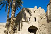 Mudbrick building in Bahla, Oman — Stock Photo