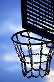 Street basketball board — Stock Photo
