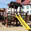 Empty playground and sunny day — Stock Photo #3277014