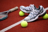 Sports shoes for tennis — Stock Photo